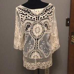 Altar'd State Tops - Altar'd State bohemian lace top